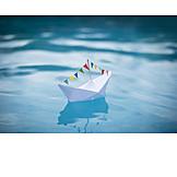 Swim, Paper boat