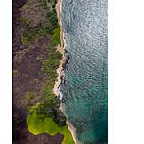 Coast, Hawaii islands