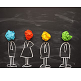 Teamwork, Creativity, Brainstorming, Imagination