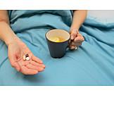 Flu, Drugs, Hot Lemon