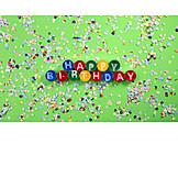 Birthday, Happy Birthday, Party Decoration