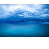 Sea, Rain Clouds