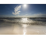 Sun, Spray, Baltic Sea Coast