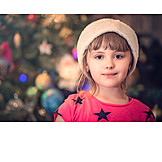 Girl, Christmas, Anticipation