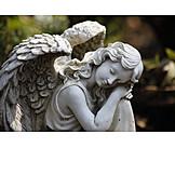 Friedhof, Engel, Ruhestätte