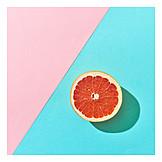 Flesh, Juicy, Grapefruit