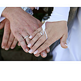 Couple, Hands, Wedding Ring