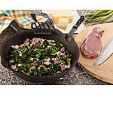 Preparation, Pork, Stew