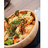 Asiatische Küche, Curry, Mittagessen