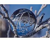 Winter Landscape, Crystal Ball