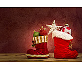 Christmas, Christmas Tree Decorations, Nicholas Boots