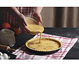 Preparation, Dough, Pumpkin Pie