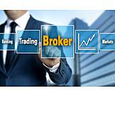 Broker, Börsenhandel