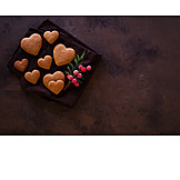 Pastries, Heart