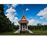 Buddhismus, Feuerbestattung, Krematorium