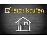 Eigenheim, Immobilienmarkt, Hauskauf