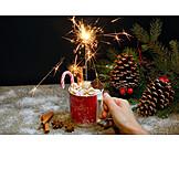 Süßigkeit, Weihnachtszeit, Marshmallow