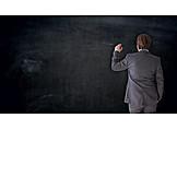 Education, Blackboard, Professor