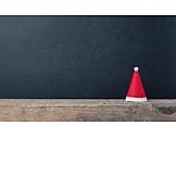 Copy space, Christmas, Santa hat
