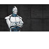Forschung, Roboter, Humanoid