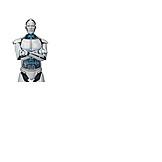 Forschung, Roboter, Kybernetik