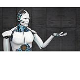 Roboter, Präsentieren, Ai