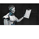 Research, Robot, Ai