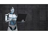 Robot, Online, Artificial Intelligence
