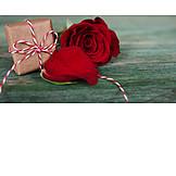 Valentinstag, Rote Rose