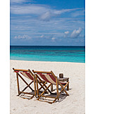 Beach, Lounge Chair