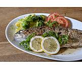 Forelle, Fischgericht