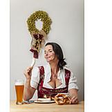 Eating, Bavarian Cuisine, Weisswurst
