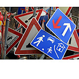 Traffic Sign, Road Traffic, Traffic Signs