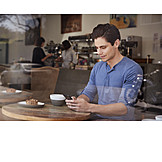 Mobile Communication, Cafe, Smart Phone