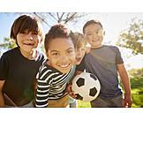 Fußball, Kindheit, Freunde
