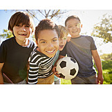 Soccer, Childhood, Friends