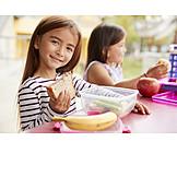 Essen, Pausenbrot, Mittagspause, Vorschulkind