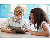 Lernen, Schüler, Tablet-pc