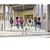 Running, School Children