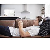 Zuhause, Musik Hören, Streamen