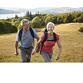 Active Seniors, Hike, Older Couple