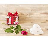 Geschenk, Valentinstag, Romantisch