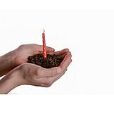 Earth, Birthday, Hand