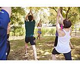 Fitness, Bewegung, Yoga