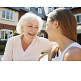 Großmutter, Kommunikation, Enkelin