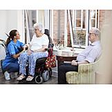 Altersheim, Seniorenresidenz, Altenpflege