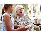 Großmutter, Zuneigung, Enkelin