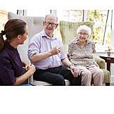 Altenpflegerin, Senioren, Altersheim