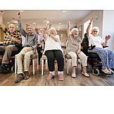 Senioren, Gymnastik, Seniorenresidenz