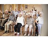 Gymnastik, Beweglichkeit, Altenpflege